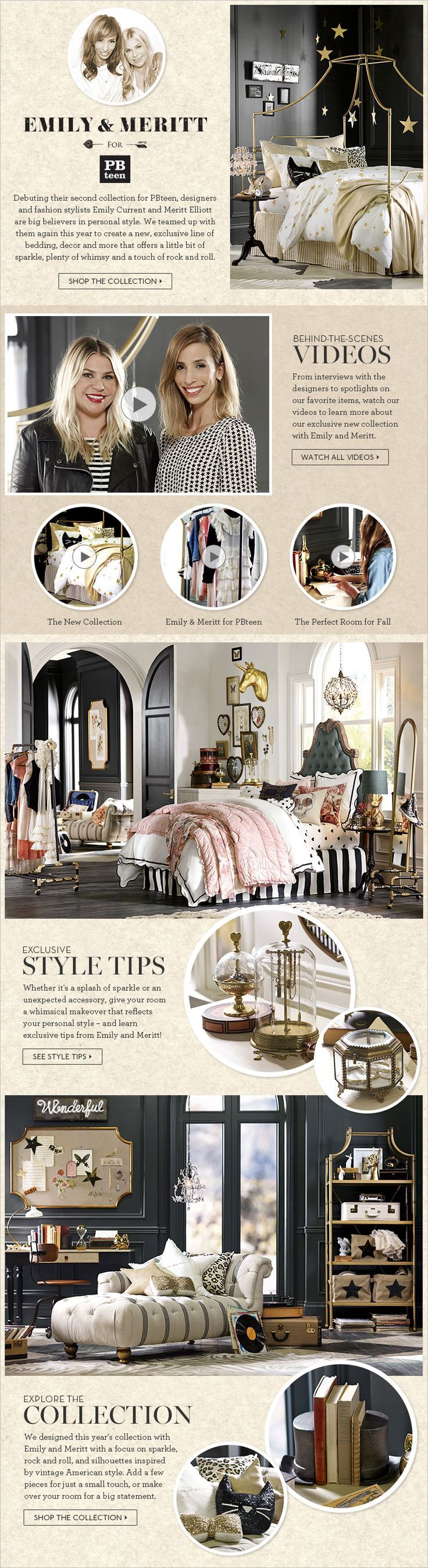 LOVE LOVE LOVE! Hope it's still available when I move Soph to her big girl room....the black/white/gold combo...