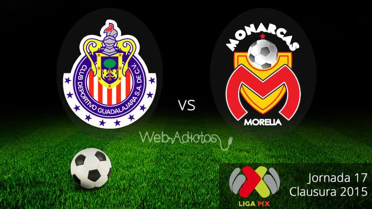Chivas vs Morelia en el Clausura 2015 ¡En vivo! - http://webadictos.com/2015/05/10/chivas-vs-morelia-clausura-2015/?utm_source=PN&utm_medium=Pinterest&utm_campaign=PN%2Bposts
