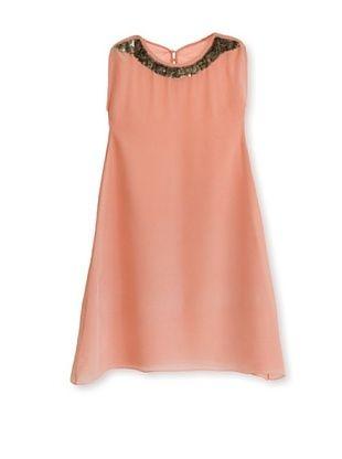 64% OFF Pale Cloud Girl's Audrey Dress (Peach)