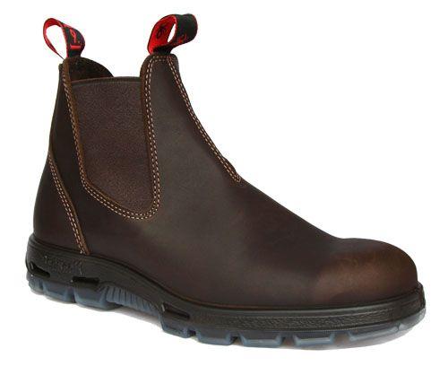 Redback Brown WATERPROOFED Boot - BROWN style UNPU