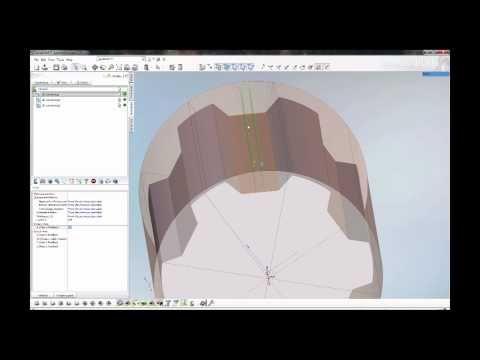 Programming the ROTJ Lightsaber Pommel 4th Axis Job On Sprutcam