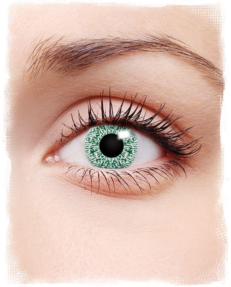 Aura Kontaktlinsen Grün   #Kontaktlinsen #contacts #farbigeKontaktlinsen #coloredcontacts #halloweenmakeup