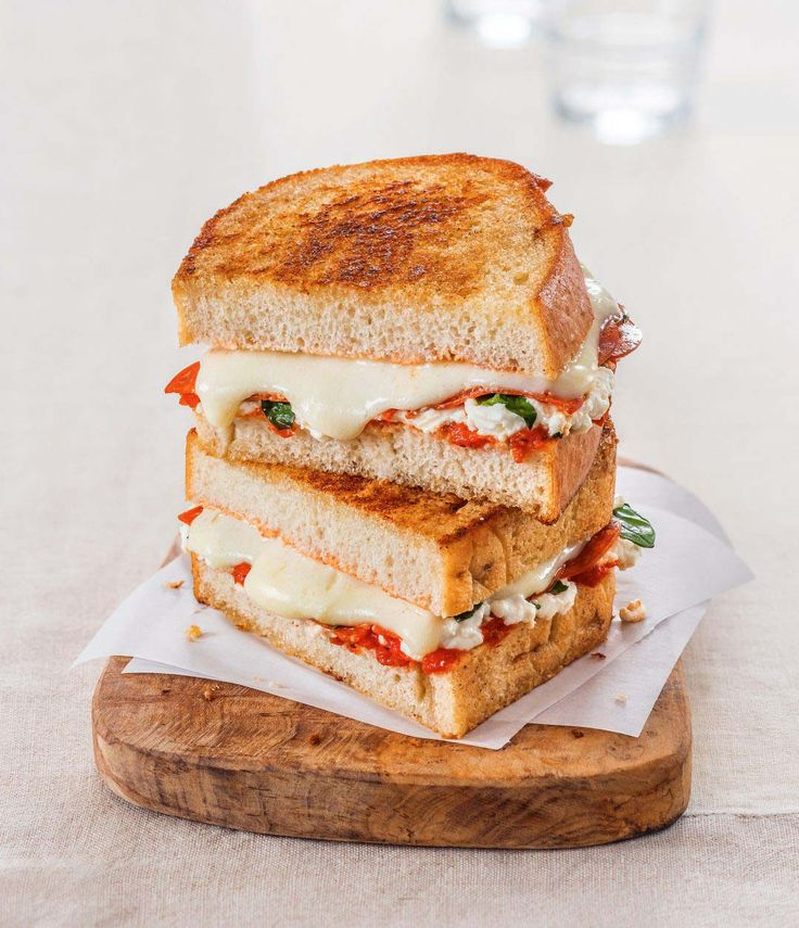 Margherita Pepperoni Grilled Cheese | Galbani Cheese | Authentic Italian Cheese