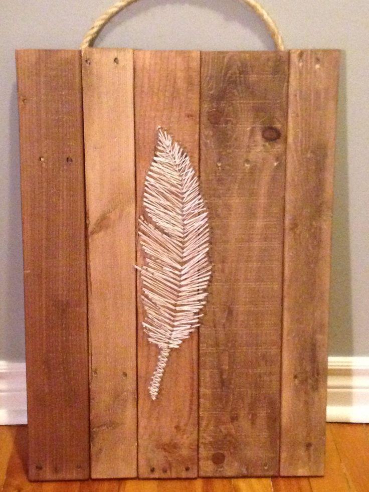 Reprodution sur planches de bois de palette que j'ai fait