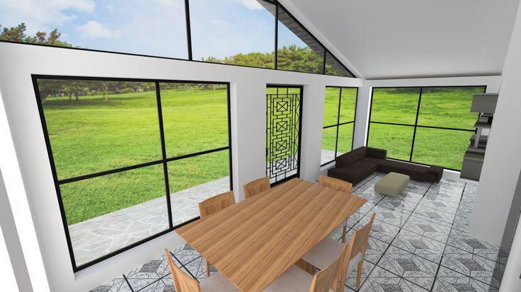 Kilotapias espaciohonduras dise os y planos de una casa for Proyectos minimalistas