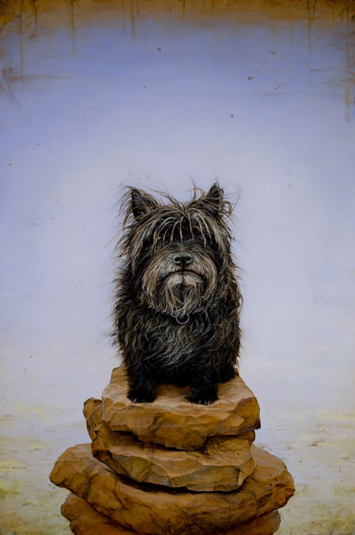 New York City Dog Portrait & Oil Paintings For Sale By Dana Hawk -