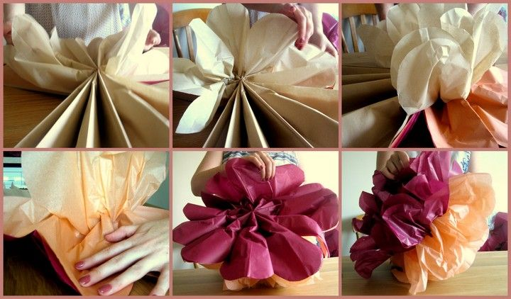 DIY Tutorial: Tissue Paper Pom Poms