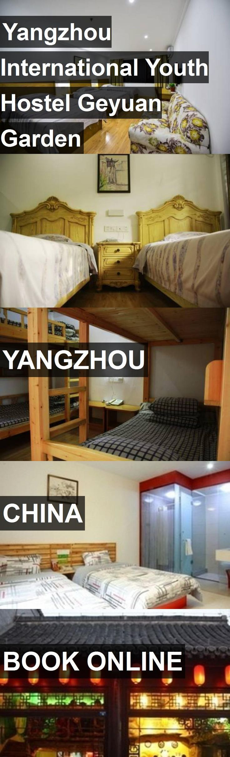 Yangzhou International Youth Hostel Geyuan Garden in Yangzhou, China. For more information, photos, reviews and best prices please follow the link. #China #Yangzhou #travel #vacation #hostel