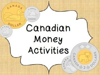 canadian money activities only coins canadian money money activities money math numbers. Black Bedroom Furniture Sets. Home Design Ideas