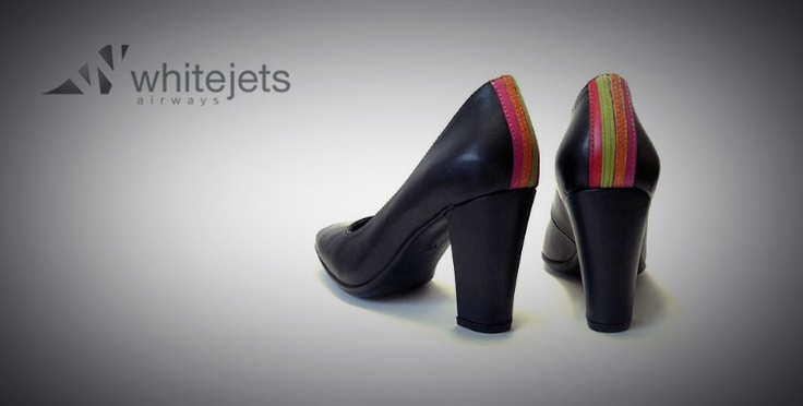 #Whitejets Airways heels