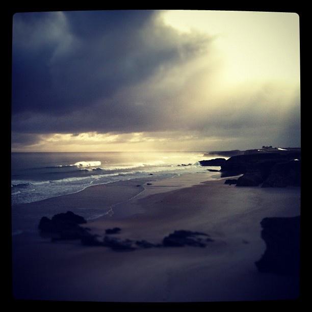 #beach #playa #galicia #surf #surfing #storm #tormenta #sun