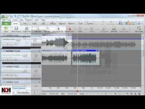 MixPad Audio Mixing Software   How to Navigate -- In this tutorial you'll learn how to navigate MixPad Multitrack Recording Software.  You'll learn what's on the Home tab, how to use Track Controls, the functions available on the Menu bar and Explorer bar, and what's on the other tabs.