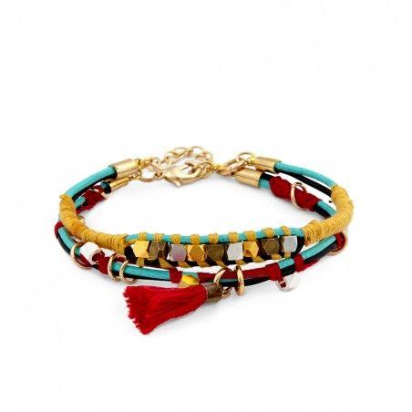 Women's Multi Boho Wrap Bracelet