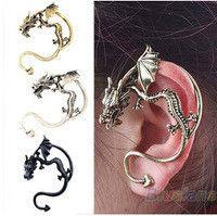 SCHMUCK FRAUEN -Gothic vintage retro dragon earrings