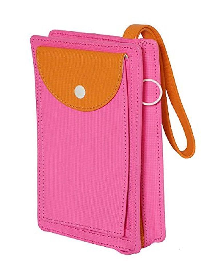 Kate Spade Saturday On The Go Wristlet Handbag Bag Magenta Purse