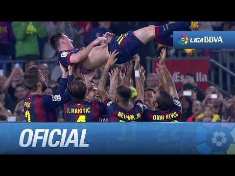 Los mejores goles de Messi en la Liga BBVA - YouTube