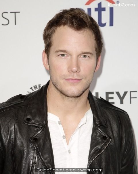 Chris Pratt  Celebrities attend 2014 PaleyFest presentation of 'Parks and Recreation' at The Dolby Theatre http://www.icelebz.com/events/celebrities_attend_2014_paleyfest_presentation_of_parks_and_recreation_at_the_dolby_theatre/photo32.html