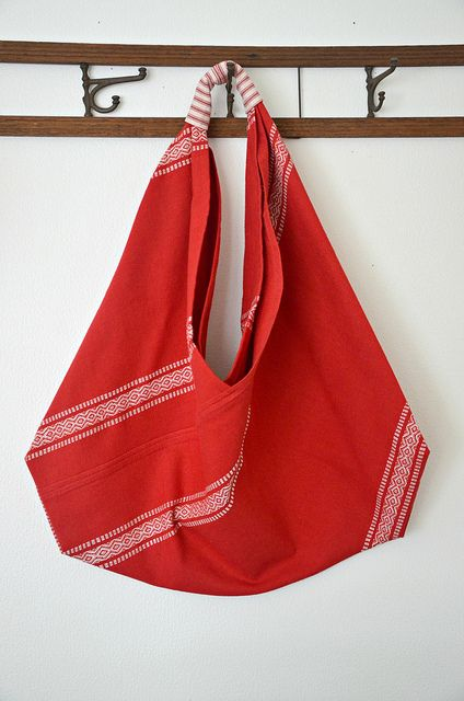 Lola Nova - Whatever Lola Wants: Origami Market Bag Tutorial
