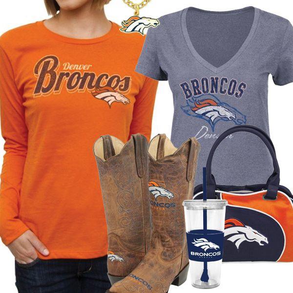 d3667385e977e Cute Denver Broncos Fan Gear