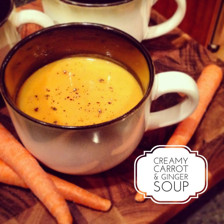 ... carrots fat gluten forward creamy carrot ginger soup gluten free low