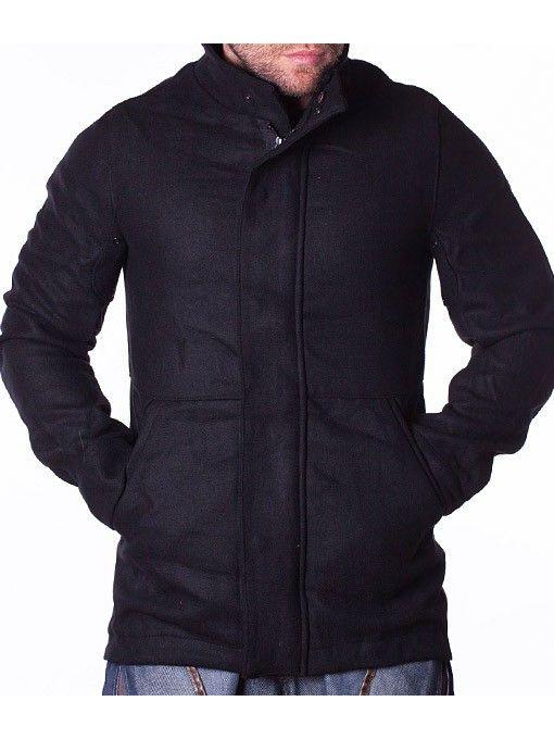 Palton barbati sport elegant Number negru