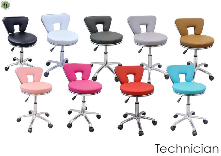 Available in multiple colors!!  #red #chair #stool #tattoo #technician #rolling #wheels #chrome #padding #tattoo #salon #spa #medical #office #homedecor #multiuse #putittogether #diy #assemblyneeded #brightcolor #fashionstatement #backrest #gaslift #comfort #comfortable #relax #diy #assemblyrequired