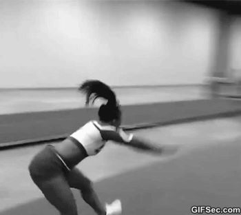 Angel rice's tumbling gives me life. Stingray Steel 2013-2014.