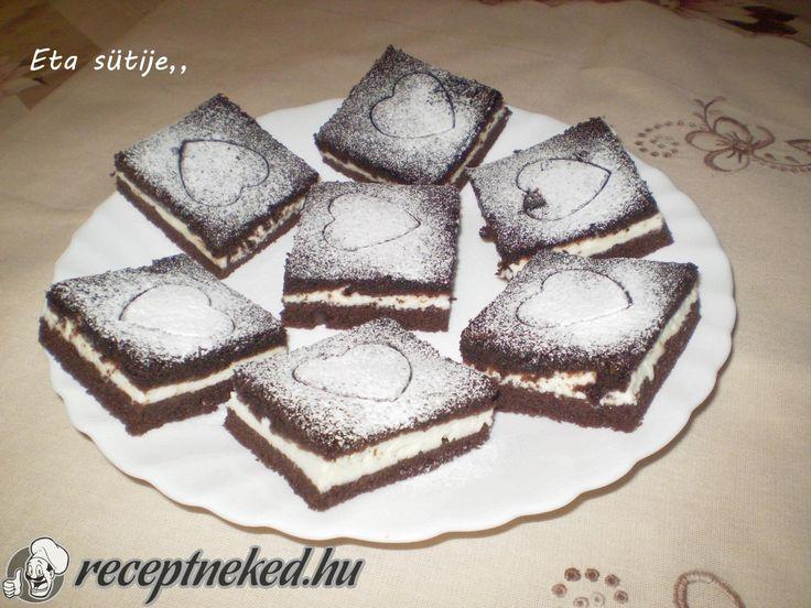 A legjobb kakaós, túrós süti Eta konyhájából!