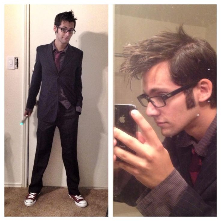 Tenth Doctor Cosplay. If I found this boy I would steal him....