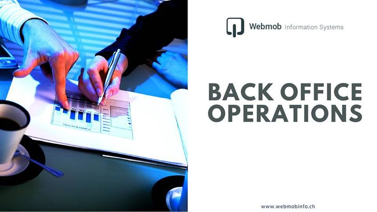 Back office Operations: We take care of the data so you can take care of the clients.: http://goo.gl/Li49Pf