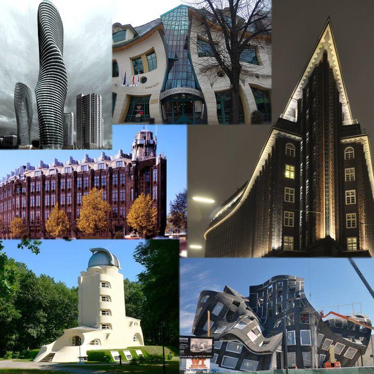arquitectura expresionista Se trata de un movimiento arquitectónico, que tuvo su origen a principios del siglo XX en Alemania,