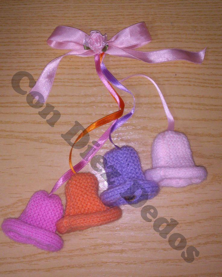 Chupete para decorar las cunas o los carritos de bebes #crochet #Manualidades #bebes