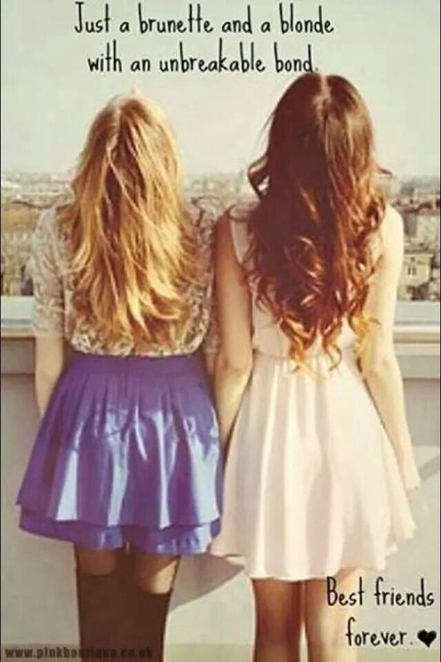 Blonde And Brunette Quotes 119