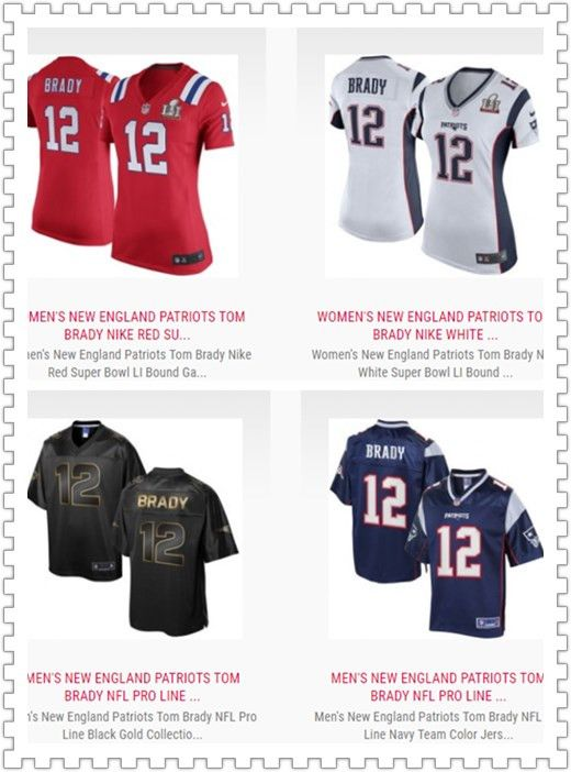 separation shoes d11d2 2a9d5 Tom Brady Jersey - Wholesale New England Patriots NFL ...