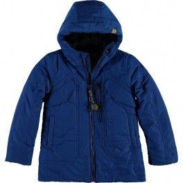 Cazadora niño azul de CKS - adrielsmoda.es
