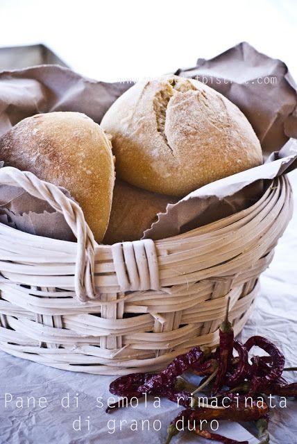 Mon petit bistrot: Pane di semola rimacinata di grano duro con lievito madre