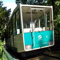 Funicular Railway in Prague