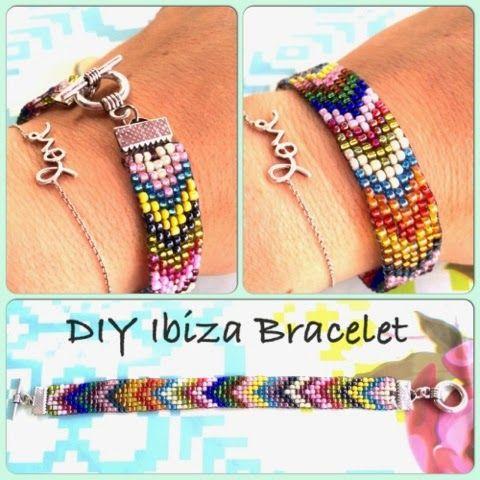 scraphamster: DIY Ibiza Bracelet