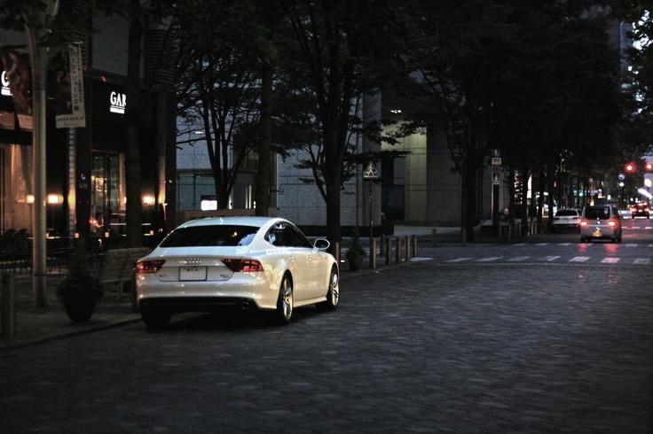 Audi A7 Sportback at Marunouchi, Tokyo