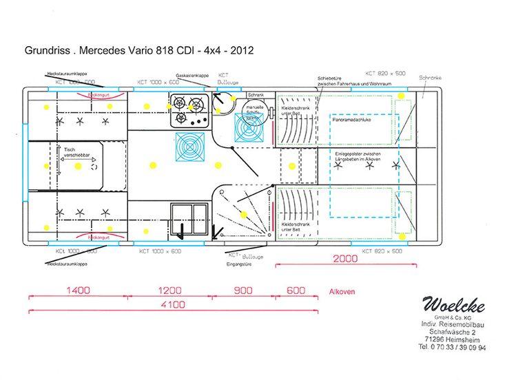 Mercedes Vario 818 CDI - 4x4 - 6300 - 2012