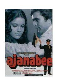 Watch Ajnabee 1974 Movie Online Free. Middle-classed young and dashing Rohit Kumar Saxena falls in love with wealthy and lovely Reshmi, and both decide to get married. Reshmi's dad, the wealthy Diwan Sardarilal is strongly ...