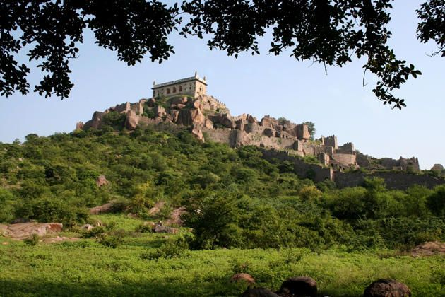 First built by the Kakatiya dynasty in the 10th century, Golconda Fort passed into the hands of subsequent occupants and was valued for its strategic importance when it became the capital of the Qutub Shahi dynasty. The fort is located in Hyderabad district.