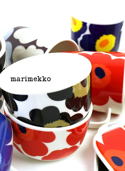 "marimekko(マリメッコ) 50周年記念 ウニッコ柄 ボウル 250ml ""UNIKKO 50th ANNIVERSARY BOWL""・5263166425 #marimekko"