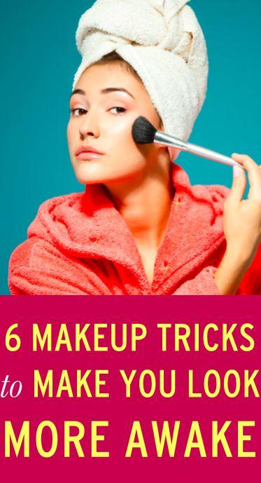 Makeup tricks to help you look more awake