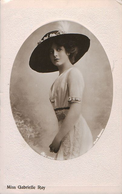 Perfect example of Edwardian costume