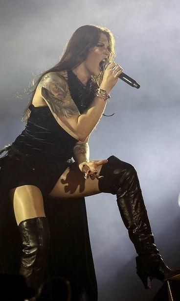 Nightwish-solisti Floor Jansen Rock in Riossa 2015. Kuva: ANTONIO LA CERDA.