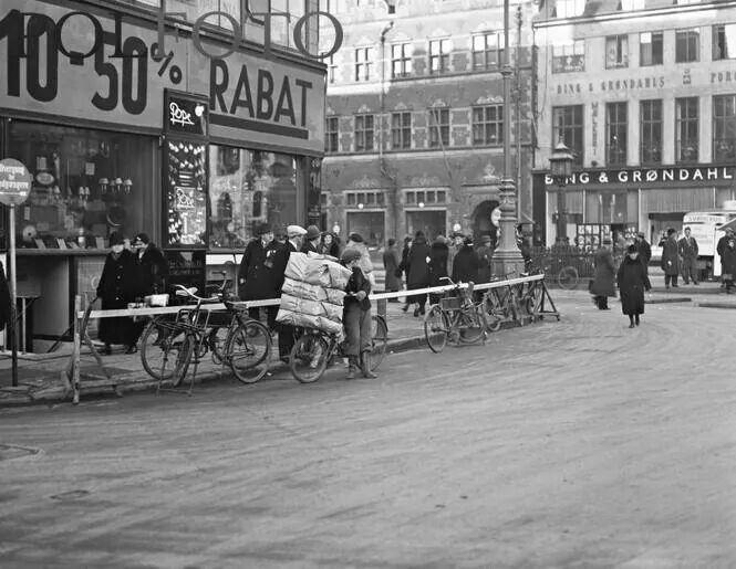 Amagertorv 1910-1940