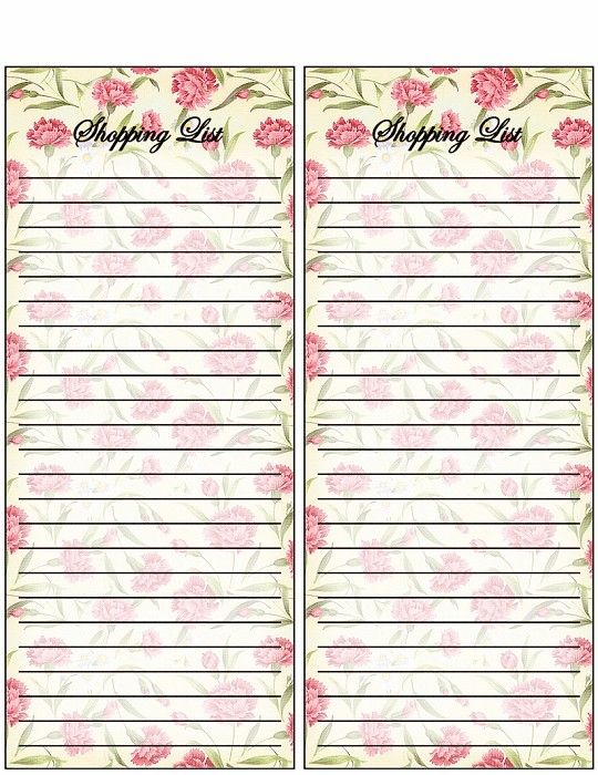Best Diy Shopping  To Do List Images On   Free
