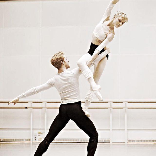Sarah Lamb and Steven Mcrae