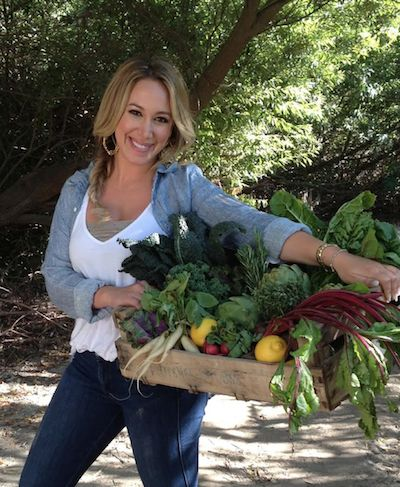 Actress Haylie Duff shares her favorite green smoothie